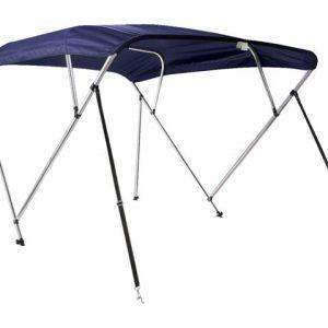 Bimini top de luxe 4 boog navy blue