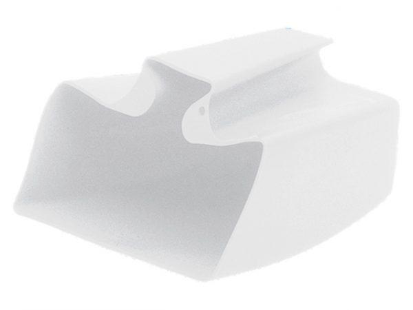 Hoosvat PVC 20 cm in wit