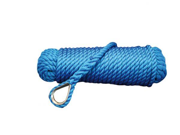 Ankerlijn polypropyleen blauw
