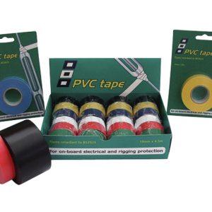 PVC tape in diverse kleuren