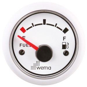 Tankmeter fuel wit