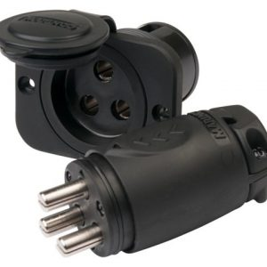 70A Trolling Motor Plug & Receptacle