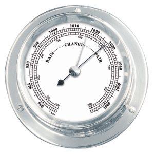 Barometer verchroomd serie 110
