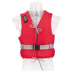 Besto dinghy 50N rood voorkant