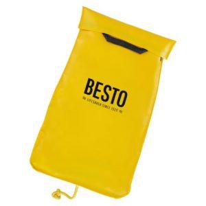Besto reddingssysteeem in de kleur geel