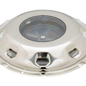 Dekventilator RVS kap 200 mm afsluitbaar