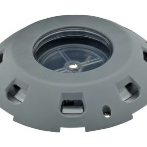 Dekventilator kunststof kap 200 mm afsluitbaar
