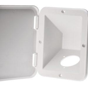 Inbouw box met klep