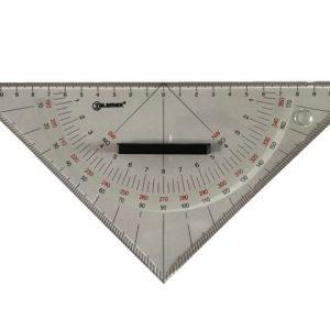 Navigatie driehoek van Talamex