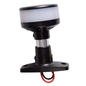 Navigatielamp 360 LED op voet zwart