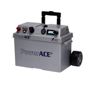 Portable accubak met quickfit aansluiting max 60A
