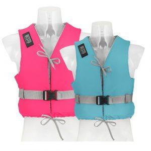 Zwemvest Besto dinghy aqua en pink