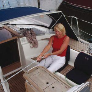 Boat Sit Comfort navy blue