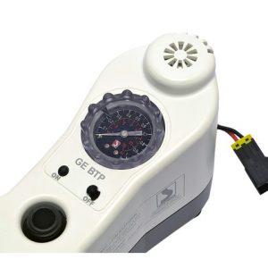 Bravo GE BTP 12V elektrische luchtpomp met manometer