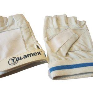Lederen zeilhandschoenen kort model