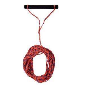 Waterski touw met handgreep